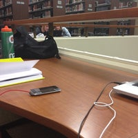 Photo taken at Roger John Voskuyl Library by Leah S. on 1/24/2013