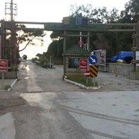 Photo taken at Kadriye Beach Park by VELİ D. on 12/20/2012