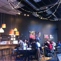 Photo taken at Awaken Cafe by Yosr N. on 12/13/2012
