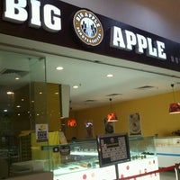 Photo taken at Big Apple Donuts & Coffee by Elvina C. on 12/21/2012