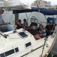 Photo taken at Corpus Christi Yacht Club by J.R. C. on 3/22/2014