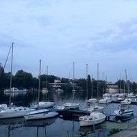 Photo taken at Дніпропетровський міський крейсерський яхт-клуб by Vlad O. on 6/25/2014