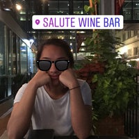 Photo taken at Salute wine bar & more by Joanna B. on 8/20/2017