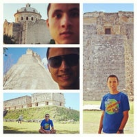 Photo taken at Uxmal by Hygor G. on 2/3/2014