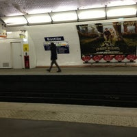 Photo taken at Métro Bastille [1,5,8] by Florent D. on 3/18/2013