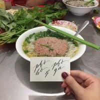 Photo taken at Phở Bắc Hải by Anna M. on 1/10/2017