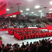 Photo taken at Walter Brown Arena by Joe H. on 5/18/2013