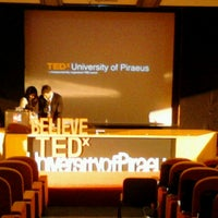 Photo taken at University of Piraeus by Marialena on 4/20/2013