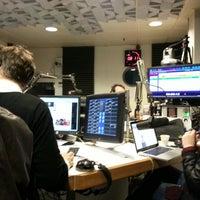 Photo taken at Ouï FM by Mel C. on 2/13/2014