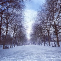 Photo taken at Warandepark / Parc de Bruxelles by Charlotte K. on 3/12/2013