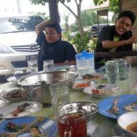 """Photo taken at Pondok Pindang """"Bu Sri"""" by Irawan D S. on 4/16/2013"""