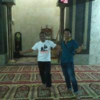 Photo taken at Masjid Besar Al Huda by Irawan D S. on 1/1/2016
