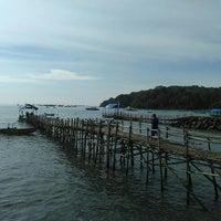 Photo taken at Pantai Timur Pangandaran by Irawan D S. on 3/26/2016