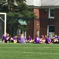 Photo taken at Blossom Turf Soccer Field by Carlton R. on 9/26/2015