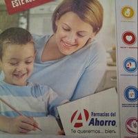 Photo taken at Farmacias del Ahorro by Alfredo T. on 8/27/2013