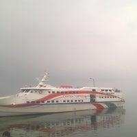 Photo taken at Pelabuhan Tulehu by Pradikta Dwi A. on 10/23/2015
