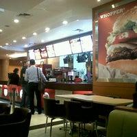 Photo taken at Burger King by Pradikta Dwi A. on 3/21/2013