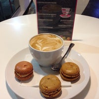 Photo taken at Le Macaron French Pastries by Angelina P. on 8/19/2014