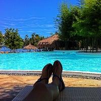 Photo taken at Panglao Bluewater Beach Resort by Jai T. on 7/13/2013