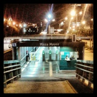 Photo taken at Metroplús - Estación Plaza Mayor by Alejandro G. on 6/12/2013