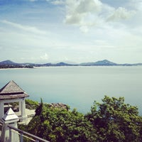 Photo taken at Lad Koh Viewpoint Samui Island by Wiroj T. on 5/24/2013