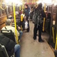 Photo taken at Bohemians (tram, bus) by Martin K. on 1/7/2013