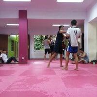 Photo taken at CENTERBASE Muaythai Camp by Rendi B. on 12/8/2012