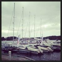 Photo taken at Hjellestad Marina by Igor B. on 5/16/2013