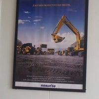 Photo taken at Head Office PT. United Tractors site Adaro by Gusti H. on 1/4/2013
