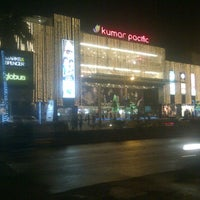 Photo taken at Kumar Pacific Mall by Ameya B. on 12/25/2012