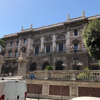 Photo taken at Palazzo Margherita by Lazaros P. on 7/7/2017