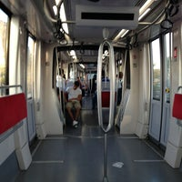Photo taken at Cevizlibağ - A.Ö.Y. Tramvay Durağı by Şenol Y. on 7/27/2013
