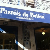 Photo taken at Fábrica dos Pastéis de Belém by Natalia B. on 2/13/2013