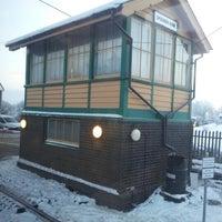 Photo taken at Spooner Row Railway Station (SPN) by Scott D. on 1/17/2013