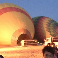 Photo taken at Luxor Balloon by Lilian M. on 5/4/2017