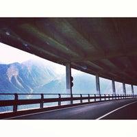 Photo taken at Italian - Swiss Bordercrossing by Mia D. on 9/19/2013