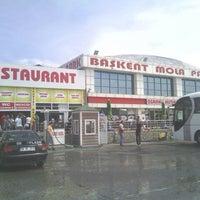 Photo taken at Başkent Mola Park by Fatih G. on 6/6/2013