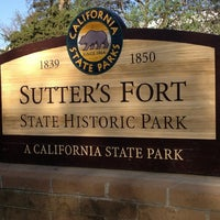 Photo taken at Sutter's Fort State Historic Park by Paula A. on 3/23/2013