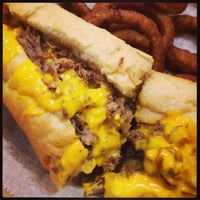 Photo taken at Cheese Steak Shop by Paula A. on 2/23/2014