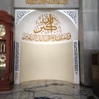 Photo taken at Masjid Ukhuwah Islamiyah (Mesjid UI) by Eko H. on 11/9/2012