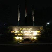 Photo taken at Halim Perdana Kusuma International Airport (HLP) by Eko H. on 3/22/2013
