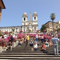 Photo taken at Piazza di Spagna by YaYa on 5/3/2013