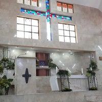Photo taken at Gereja Katolik Salib Suci by Andy P. on 4/19/2014