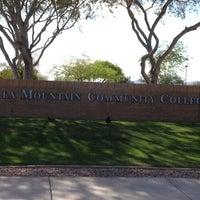 Photo taken at Estrella Mountain Community College by Mossman $. on 4/3/2013
