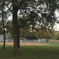 Photo taken at Elmwood Park by Mossman $. on 9/30/2015