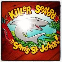 Photo taken at Sams St. Johns Seafood by ⭐Amanda B. on 12/25/2012