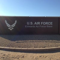 Photo taken at Edwards Air Force Base by Andrew C. on 8/9/2013