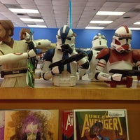 Photo taken at Zeus Comics and Collectibles by Mary R. on 4/29/2014