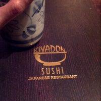 Photo taken at Kiyadon Sushi by Sherren M. on 4/2/2013