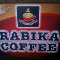 Photo taken at Rabika Coffee by Kyril on 1/27/2013